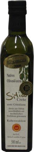 Sitia Crete - Natives Olivenöl Extra Kaltextraktion - 500ml