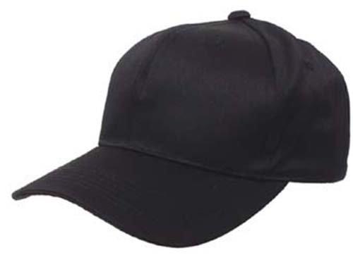 Casquette uS avec visière ajustable taille unique Noir - Noir