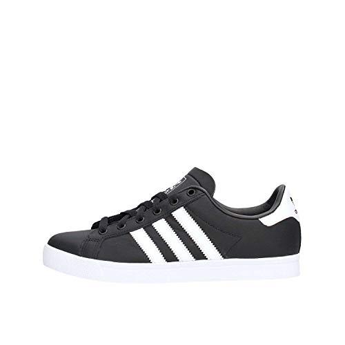 adidas Coast Star, Scarpe da Ginnastica Uomo, Nero (Core Black/Ftwr White/Core Black Core Black/Ftwr White/Core Black), 42 2/3 EU