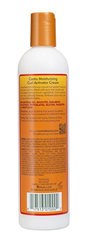 Cantu Shea Butter for Natural Hair Moisturizing Curl Activator Cream, 12 Ounce