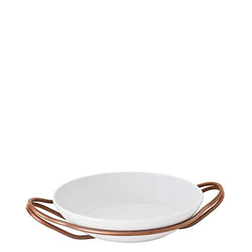 Sambonet Holder With Rice Porcelain Cm 36 New Living PVD Hi-Tech Copper