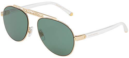 Dolce & Gabbana 0Dg2235 Gafas de Sol, Gold, 57 para Mujer
