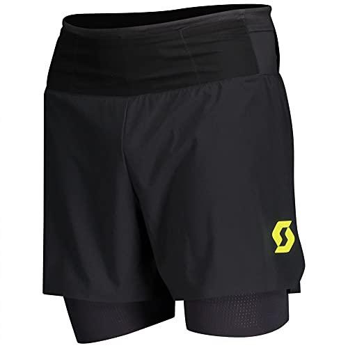 Scott M RC Run Hybrid Shorts Schwarz, Herren Hose, Größe L - Farbe Black - Yellow