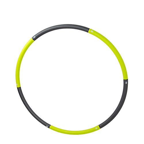 Find Bargain AiKuJia Hula Hoops Assembled Disassembled Adult Hula Hoop Thin Female Quickly Body Shap...