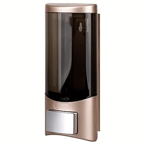 XIXIDIAN Dispensador de jabón, dispensador de jabón de Bomba de Pared, dispensadores manuales de loción para el hogar, diseño de la Bomba sin obstrucciones, 500 ml