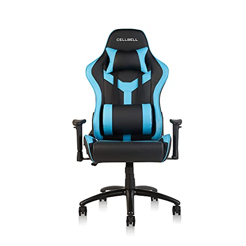 CELLBELL® GC03 Transformer Series Gaming/Racing Style Ergonomic High Back Chair with Removable Neck Rest and Adjustable Back...