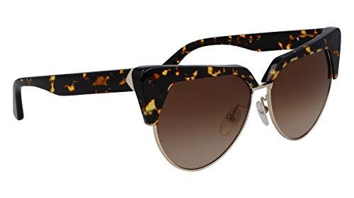 Karl Lagerfeld KL276S - Gafas de Sol de Metal, Unisex, para Adulto, Multicolor, estándar