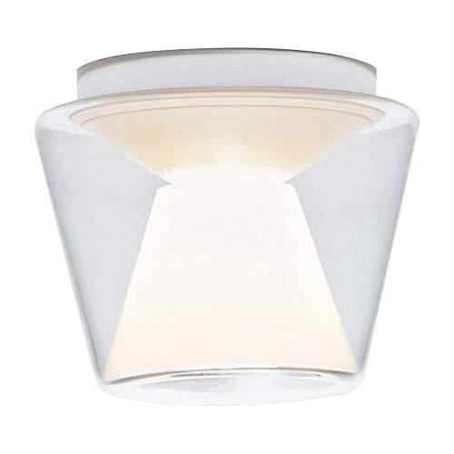 Annex Ceiling LED-Deckenleuchte M, transparent Reflektor: Glas opal Ø22cm 1280lm 2700K CRI>90 Regelung über TRIAC