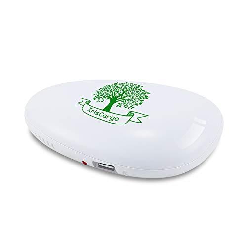 IrisCargo Geruchsabsorber, tragbarer Luftreiniger Ozongenerator, USB-Lade-Luftreiniger für Kühlschränke, Autos, hält bis zu 3 Jahre