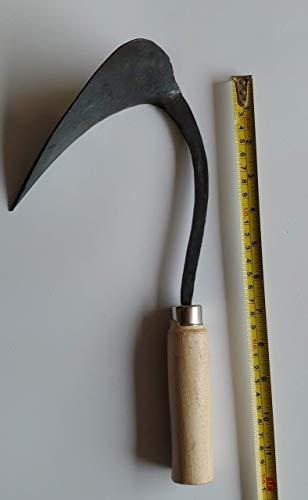 Narsha JY Premium HOMI(Hand Plow, Hoe) Blacksmith Handmade for Gardening, Weeding, Digging