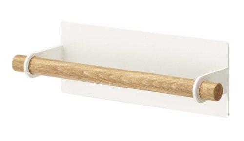 Yamazaki Home Holder Magnetic Dish Towel Hanger, Large, White Only $12.63 (Retail $26.95)