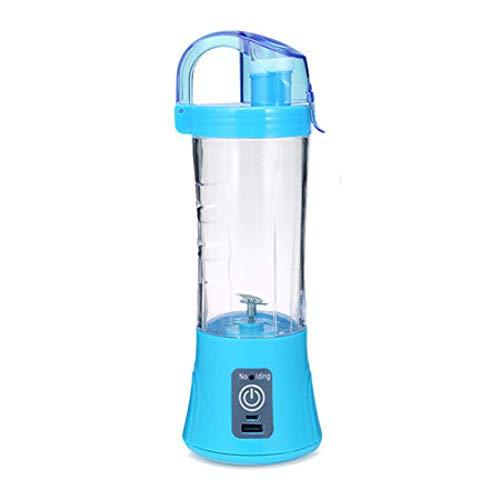 JINHH 400Ml Portable Juice, Blender USB Juicer Cup Multi-Function Fruit Mixer Six Blade Mixing Machine Smoothies Baby Food