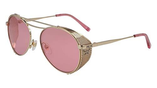 MCM MCM129S - Gafas de sol de metal rosa, unisex, para adulto, multicolor, estándar