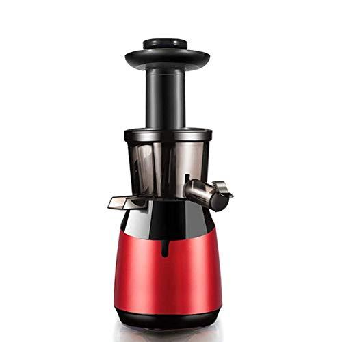 Adesign Máquina de exprimidor centrífugo de la Boca Ancha de exprimidor para Frutas Enteras y Verduras fácilmente Limpio de Jugo Profesional de Jugo de jugos de jugos Dual (Color : Red)