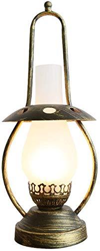 TAID Vintage Tischlampe Studie Schlafzimmer Nachttischlampe Kreative Dekorative Chinesischen Stil Retro Nostalgie Alte Öllampe Exquisite Schreibtischlampe