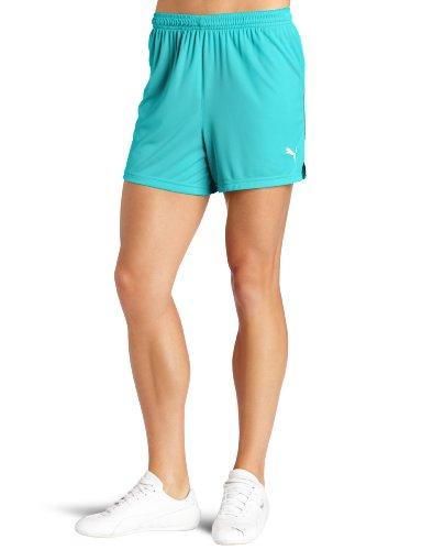 PUMA Damen Attaccante Shorts zum Hineinschlüpfen - Grün - Groß