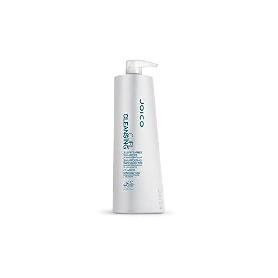 士気目立つ言い聞かせる快活、健康カール用ジョイコカールクレンジング硫酸フリーシャンプー(千ミリリットル) x4 - Joico Curl Cleansing Sulfate-Free Shampoo For Bouncy, Healthy Curls (1000ml) (Pack of 4) [並行輸入品]