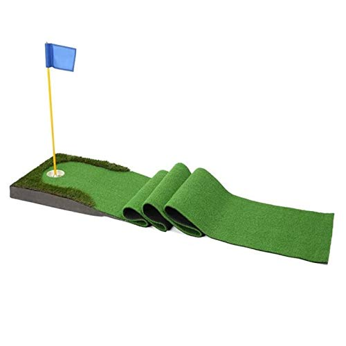 プロの屋内ゴルフマットの屋外パターのエクササイザーのライン双方向屋内練習グリーンセットエクサイザー屋外ポータブル 1230