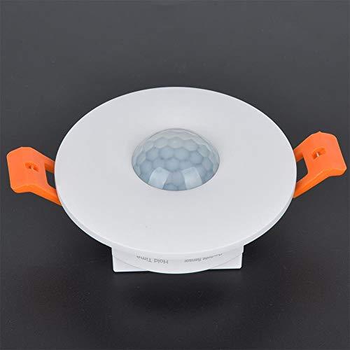 MR-HWQR8636 Bewegingssensor Schakelaar 120 ° Inductiehoek Infrarood Inductie Relais Trappen Lichaamssensor Schakelaar LED Eenvoudige lampen Paneelverlichting