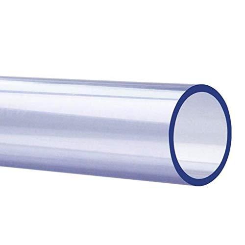 ZZYEUIO Tubo acrílico de PVC, Longitud del Tubo de Agua 50 cm, Espesor de Pared 2.5mm-5.0mm, diámetro Exterior 20mm-160mm, plástico de Tubo rígido Transparente, 1 PCS (Size : 50mm*3.5mm)