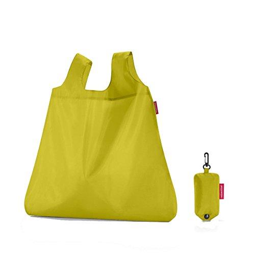 Reisenthel Mini Maxi Shopper Apple Green Einkaufstasche, Polyester, 53.5x45x7 cm