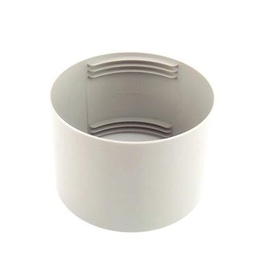 Connettore per tubo di ventilazione, raccordo per tubo di ventilazione, tubo di scarico, collegamento con tubo di scarico da 15 cm/13 cm, per impianto di condizionamento dell'aria condizionata