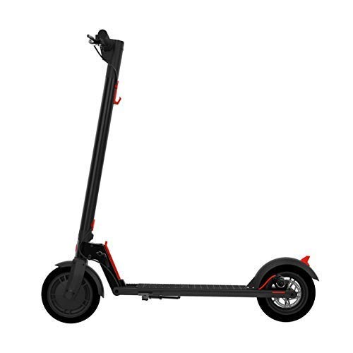 "GOTRAX GXL V2 Commuting Electric Scooter - 8.5"" Air Filled Tires - 15.5MPH & 9-12 Mile Range - Version 2 (Black)"