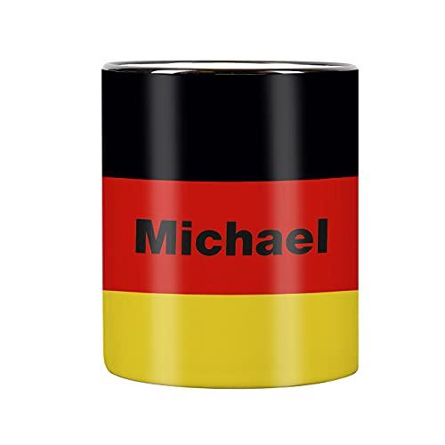 Herz und Heim® Tasse mit Wunschnamen & Flagge - Deutschland -