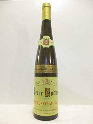 50 cl gewurztraminer pierre ludwig vendanges tardives liquoreux 1998 - alsace
