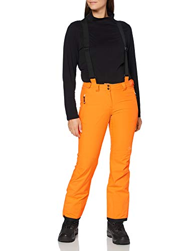 Dare 2b Damen Stand for II Overalls, VibrantOrnge, FR : XS (Taille Fabricant : 8)