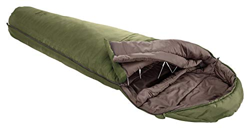 Grand Canyon Kansas 190 Mumienschlafsack - Premium Schlafsack für Outdoor Camping - Limit 0° - Capulet Olive