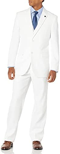 White two piece suit