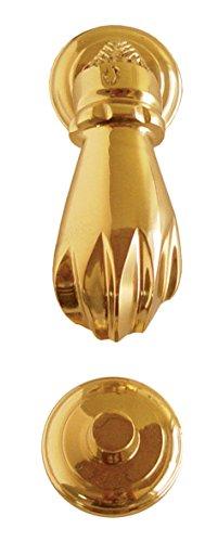 Imex El Zorro 76051 Llamador (mano lisa, latón brillo, 60 x 140 mm)