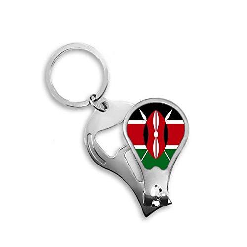 DIYthinker Kenia Nationale Vlag Afrika Land Toenail Clipper Cutter