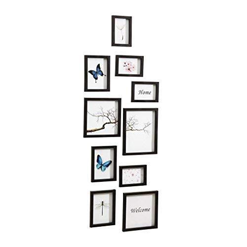 Nielsen Design Nielsen 10Piece Frame Set Black Plastic Mobile Rack 8999176