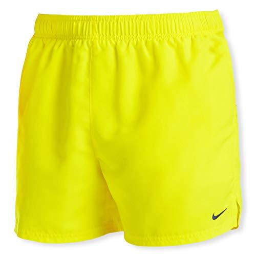 Nike 5 Volley Short Costume da Bagno da Uomo, Uomo, Costume da Bagno, NESSA560-731, Giallo Fluo (Lemon Venom), L