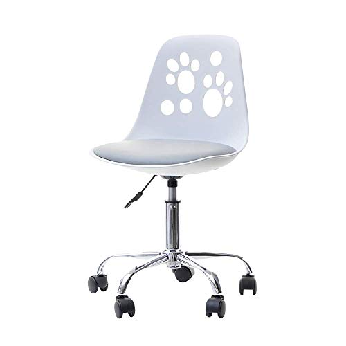 Selsey Foot - Silla de Escritorio Infantil (Altura Regulable, con Ruedas y funcion giratoria)