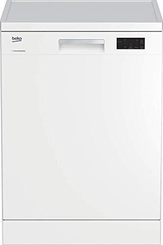 Beko DFN16430W Geschirrspüler Freistehend / A+++ / 237 kWh/Jahr / Schnell-Funktion / Halbe Beladung Funktion / Watersafe+ / Weiß