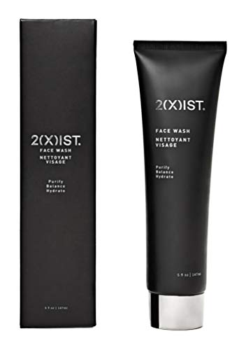 2XIST Face Wash Mens Face Wash Caffeine Cleanser Charcoal Face Wash Facial Scrub Anti Aging Daily Skin Care For Men Helps Minimize Pores Calm Acne Brightens And Clears Complexion In Skin (5 oz/118 ml)