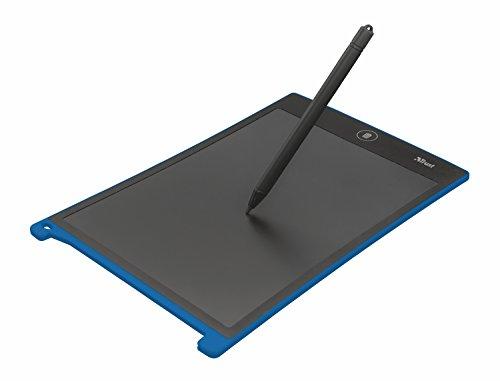 Trust Wizz - Panel de Escritura Digital con Pantalla LCD de 8,5 Pulgadas, Negro