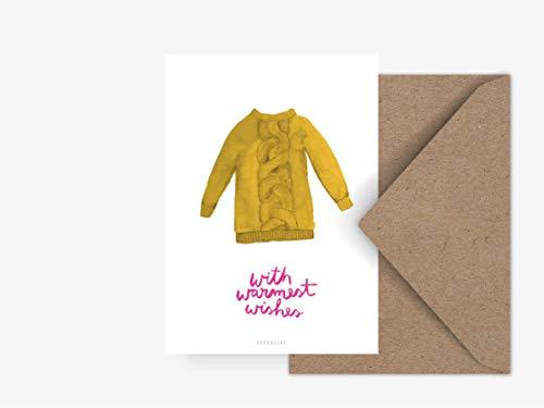 Postkarte - Pullover No. 2