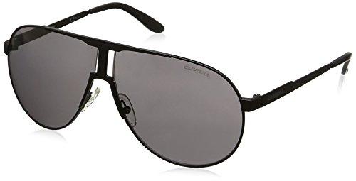 Carrera Unisex-Erwachsene NEW PANAMERIKA Y1 003 64 Sonnenbrille, Schwarz (Matt Black/Grey)