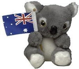 Plush Koala with Australian Flag 4in.