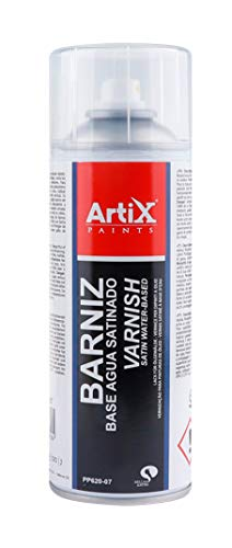 Spray para Bellas Artes Artix Paints (BARNIZ BASE AGUA SATINADO)