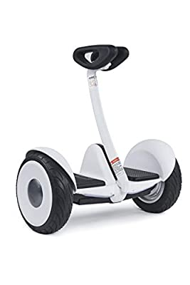 Ninebot by Segway S Smart Self-Balancing Electric Transporter - White (UK version with warranty)