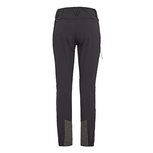 Salewa Agner Orval 2 DST W Pantalon pour Femme, Femme, Pantalon, 00-0000026941, Black Out, 42 W/36 L