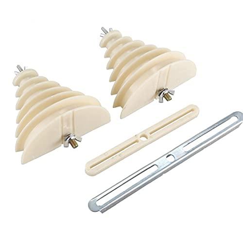 Bobina de hilo de arrollamiento Molde 6 capas de plástico monofásico Beige máquina eléctrica Molde Winding, motor