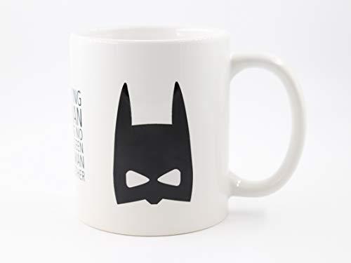 PICSonPAPER Tasse mit mit Spruch I'm not Saying I'm Batman, Geschenk, Kaffeetasse, Keramiktasse, Tasse mit Grafik, Tasse mit Spruch, lustige Tasse (Batman)