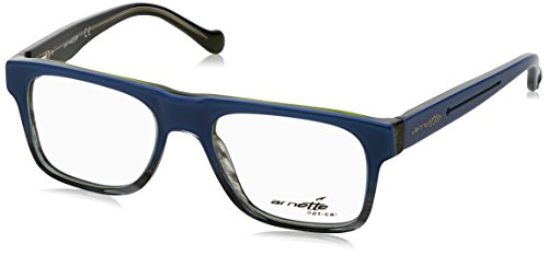 Arnette High Hate Monturas de gafas, Blue Black/Green Black, 47 para Hombre