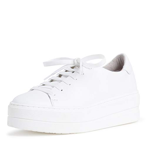 Tamaris Zapatillas deportivas para mujer, suela suelta, color Blanco, talla 41 EU